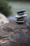 Stack of pebbles Stock Photos