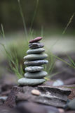 Stack of pebbles Royalty Free Stock Photography