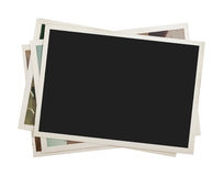 Stack of photos isolated Royalty Free Stock Photos
