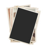 Stack of photos isolated Royalty Free Stock Photography