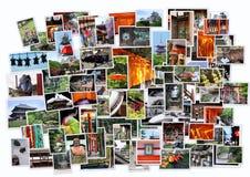 Stack of photos of Japan, Kansai area near Kyoto Stock Photo