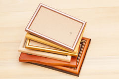Stack of picture frames Royalty Free Stock Photos