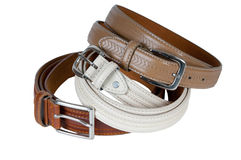 Free Stack Pile Of Leather Belts Royalty Free Stock Photo - 30668855