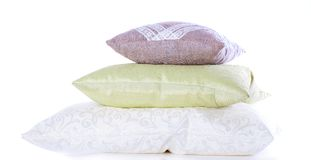 stack of pillows Royalty Free Stock Photo