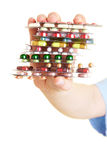 Stack of pills Royalty Free Stock Photo