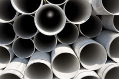 Stack of pipes Royalty Free Stock Images