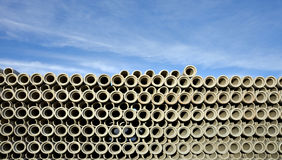 Stack of pipes Royalty Free Stock Image