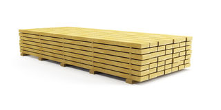 Stack of planks Stock Photography