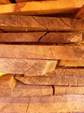 Stack of planks Royalty Free Stock Images