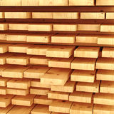 Stack of planks. Royalty Free Stock Images