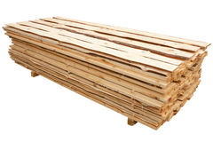 Stack of planks Royalty Free Stock Image
