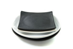 Stack of plate Royalty Free Stock Photo