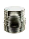 Stack of plates Royalty Free Stock Photo