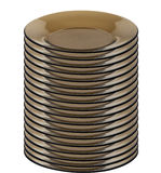Stack of plates Stock Image