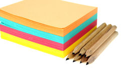 Stack of post-it Stock Photography