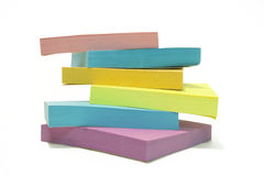 Stack of Post Its royalty free stock photography