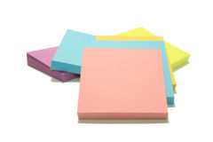 Stack of Post Its Royalty Free Stock Photos