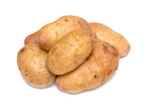 Stack of potatoes Stock Photo