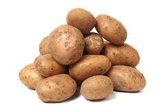 Stack of Potatoes Royalty Free Stock Photos