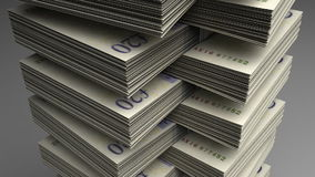Stack of Pound stock video