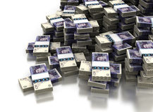 Stack of Pound Stock Photo