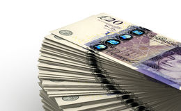 Stack of Pound Stock Photography