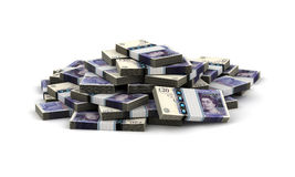 Stack of Pound Royalty Free Stock Images