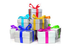 Stack of presents Stock Photography