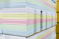 Stack of print paper