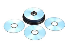 Stack of printable discs Stock Photography