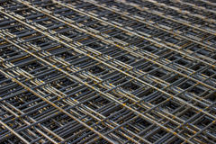 Stack of rebar grids Stock Image