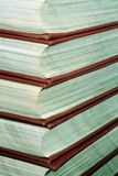 Stack of Reference Books Stock Images