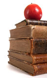 Stack of retro books Royalty Free Stock Photography