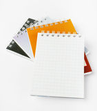 Stack of ring binder book Royalty Free Stock Image