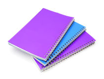 Stack of ring binder book Royalty Free Stock Photography