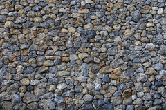 Stack of rock wall texture use as background Royalty Free Stock Image