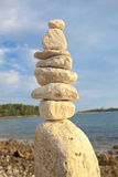 Stack of rocks Stock Photography