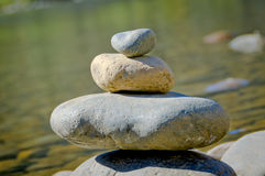 Stack of Rocks Royalty Free Stock Images
