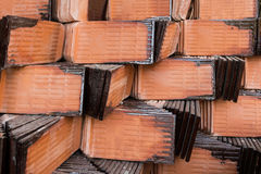 Stack of roof tile Royalty Free Stock Image