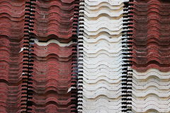 Stack of roof tile Royalty Free Stock Photo