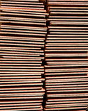 Stack of roof tiles Stock Photo