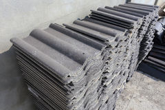 Stack roofing tiles Stock Photography