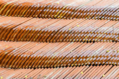 Stack of roofing tiles Stock Photography
