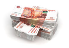 Stack of Ruble Stock Images