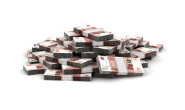 Stack of Ruble Royalty Free Stock Photo