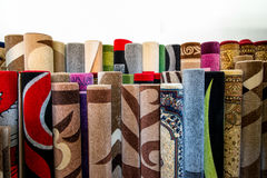 Stack Of Rugs Stock Images