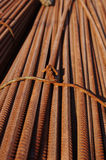 Stack of rusty bars Royalty Free Stock Photo