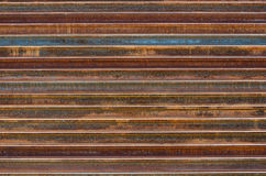 Stack of Rusty Railway Background/ Texture Stock Photo