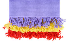 Stack of scarves Royalty Free Stock Photography