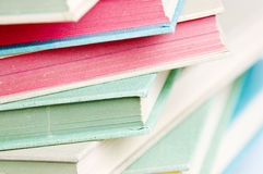 Stack of school books Royalty Free Stock Image
